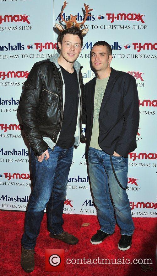 Cory Montieth, Mark Salling Marshalls & TJ Maxx's...