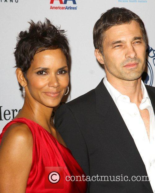 Halle Berry and Olivier Martinez 1