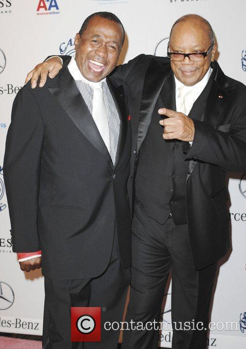 Ben Vereen and Quincy Jones