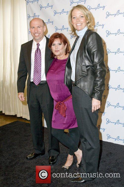 Steven Bellach, Carrie Fisher and Dana Fiser Jenny...
