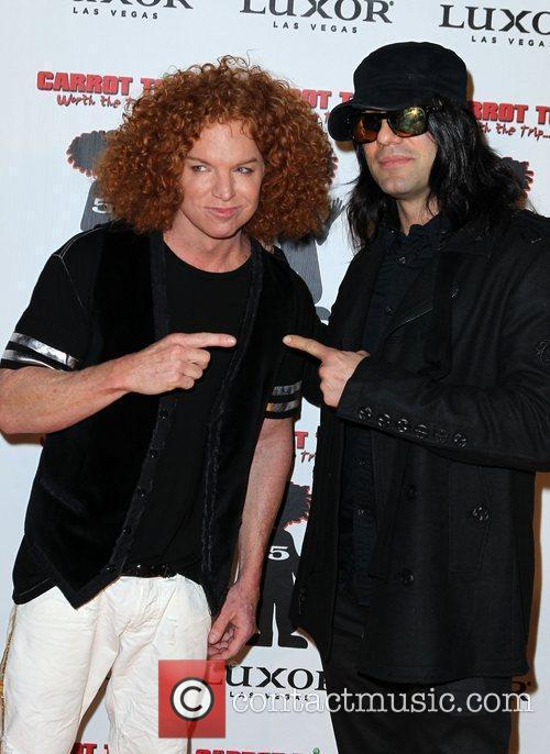 Carrot Top and Criss Angel Carrot Top Celebrates...
