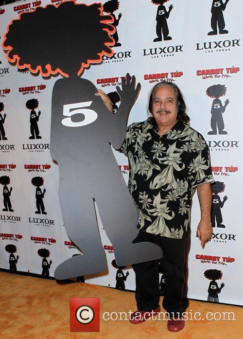Ron Jeremy Carrot Top Celebrates Five Years at...