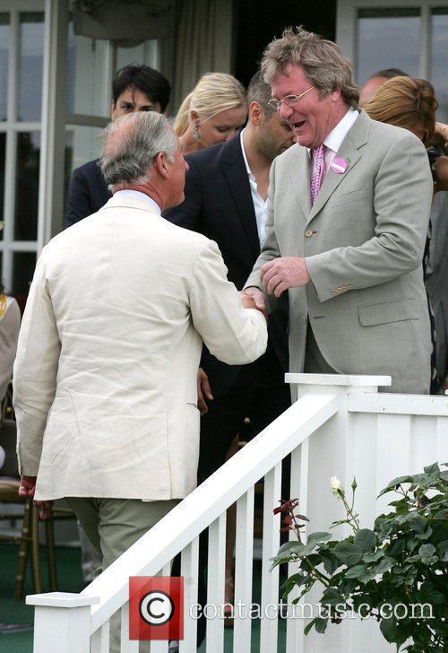 Prince Charles, Jim Davidson, Cartier International Polo