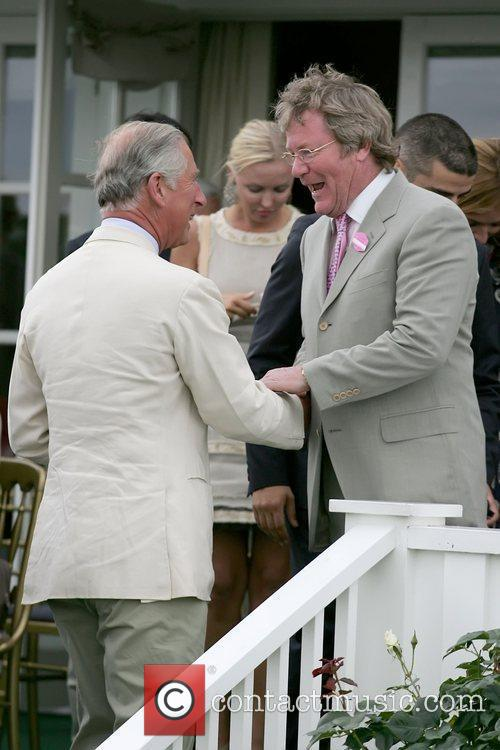 Prince Charles, Jim Davidson, Cartier International Polo