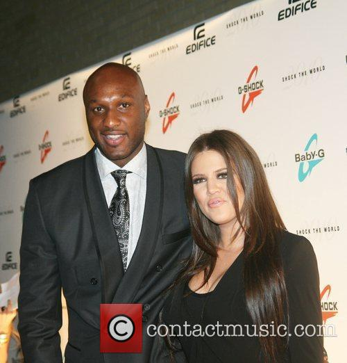 Lamar Odom, Khloe Kardashian Casio's Shock the World...
