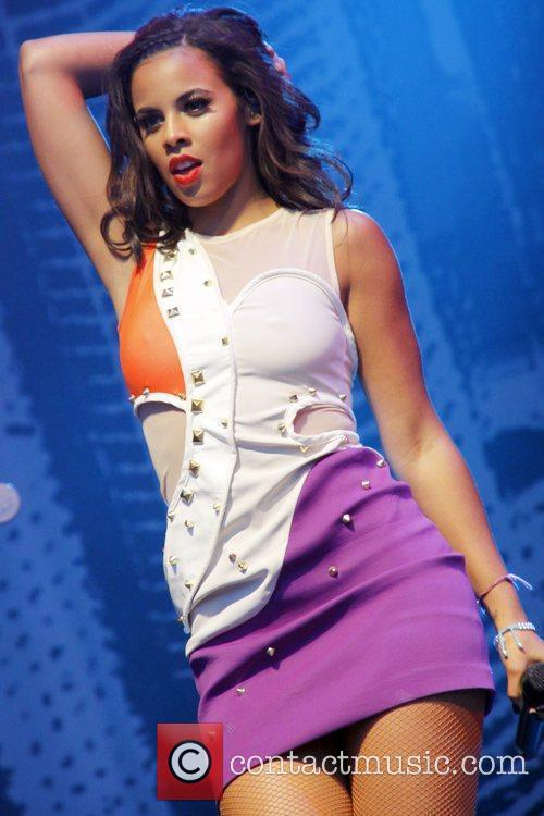 Rochelle Wiseman of The Saturdays The Castle Concerts...