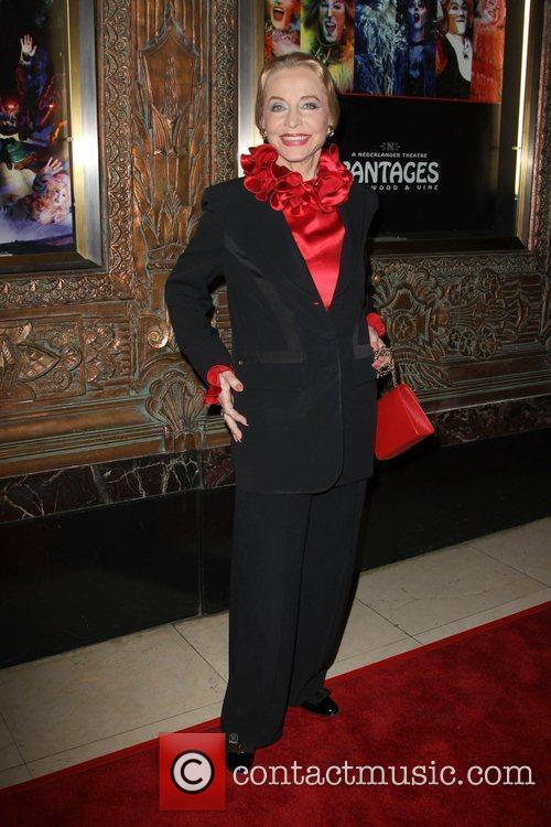 Anne Jeffreys CATS - Los Angeles opening night...