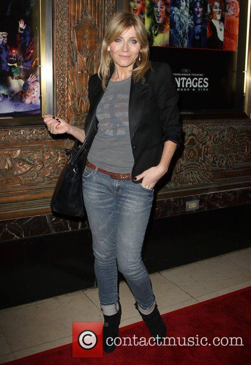 Michelle Collins CATS - Los Angeles opening night...