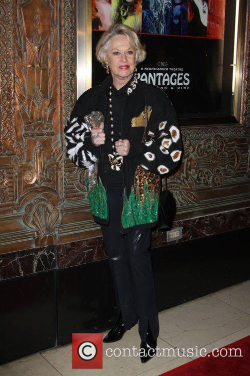 Tippi Hedren CATS - Los Angeles opening night...