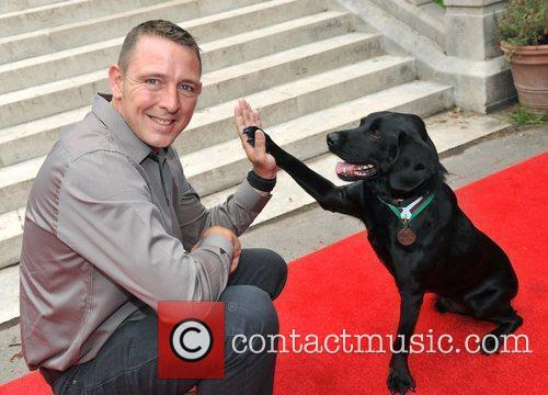Treo, who recently received a PDSA Dickin Medal...