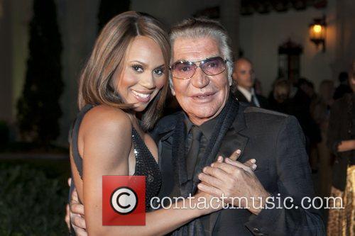 Deborah Cox and Roberto Cavalli Roberto Cavalli Spring...