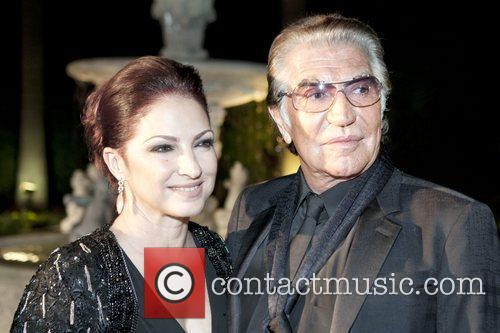 Gloria Estefan and Roberto Cavalli Roberto Cavalli Spring...
