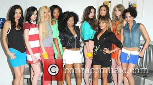 Adrienne Bailon and Models 9