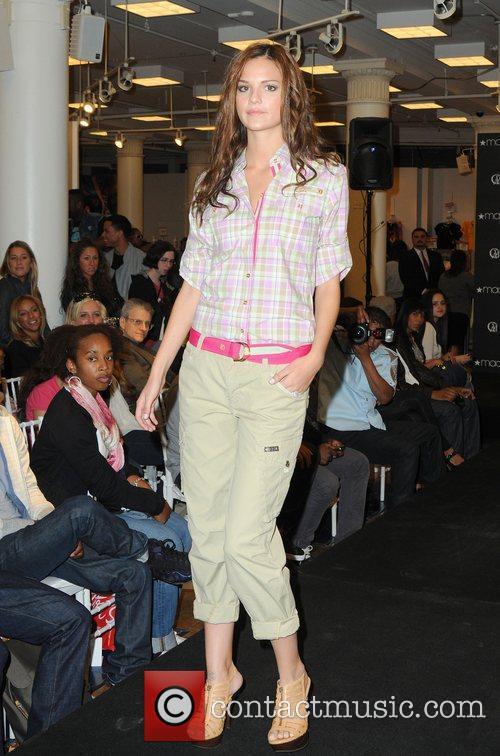 Cavi Juniors Spring 2010 Fashion Show held at...
