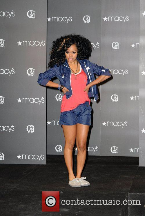 Teyana Taylor Cavi Juniors Spring 2010 Fashion Show...