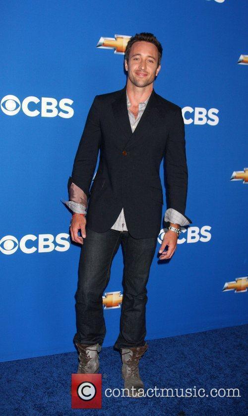 Alex O'Loughlin  2010 CBS fall launch premiere...