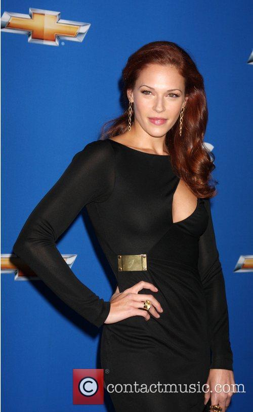 Amanda Righetti  2010 CBS fall launch premiere...