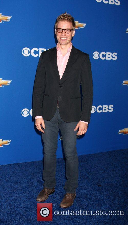 Barrett Foa  2010 CBS fall launch premiere...