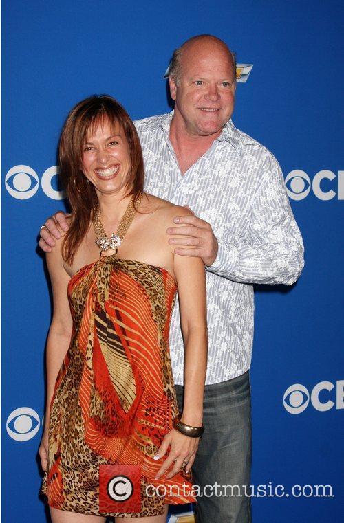 Rex Linn and guest 2010 CBS fall launch...