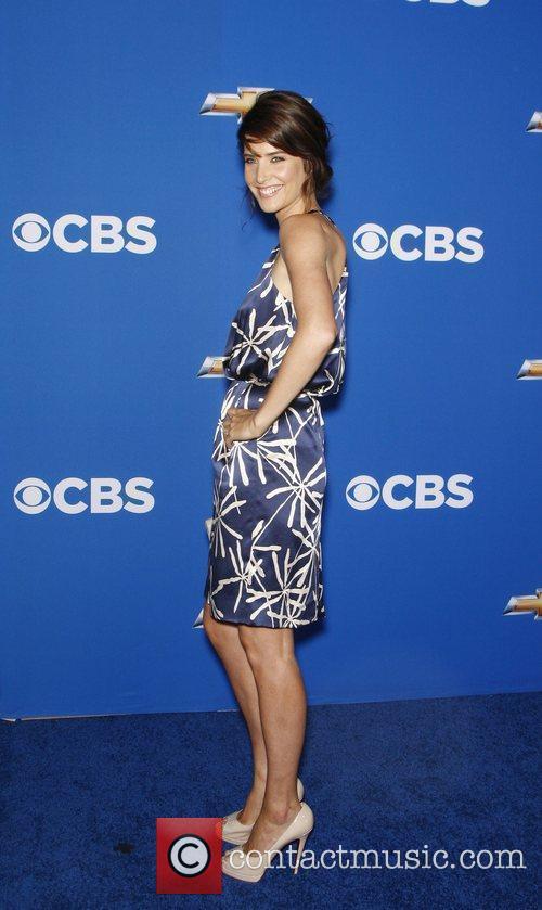 Cobie Smulders  2010 CBS fall launch premiere...