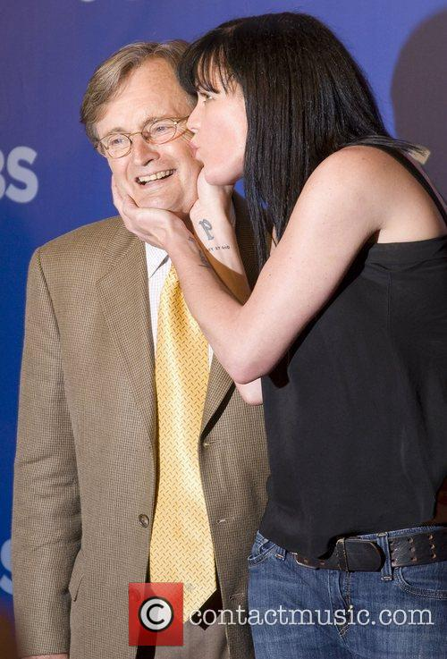 David Mccallum and Pauley Perrette