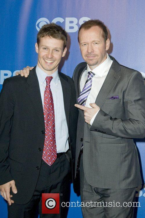 Donnie Wahlberg and Will Estes  CBS Upfronts...