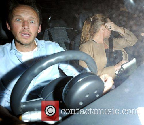 Stella McCartney with her husband Alasdhair Willis leaving...