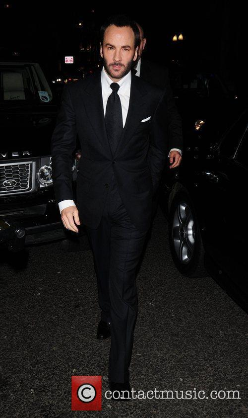 Tom Ford attends a party at Cecconi's restaurant...