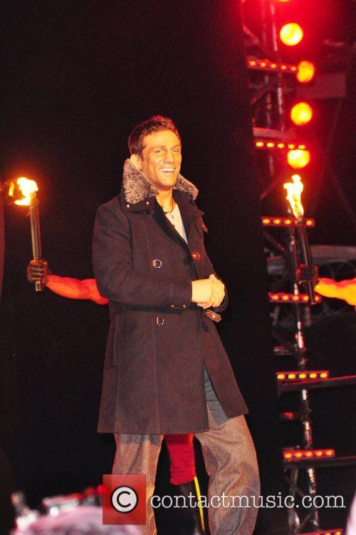 Alex Reid Celebrity Big Brother 7 launch night...