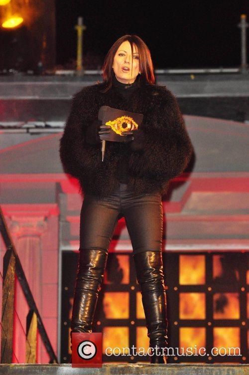 Davina McCall Celebrity Big Brother 7 launch night...