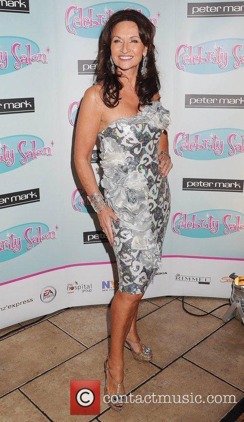 Celia Holman Lee TV3's 'Celebrity Salon' launch party...