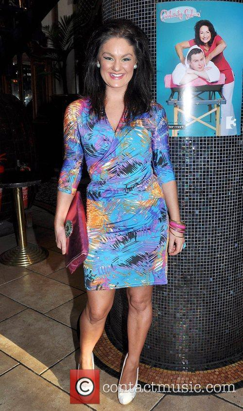 Geraldine O'Callaghan TV3's 'Celebrity Salon' launch party at...