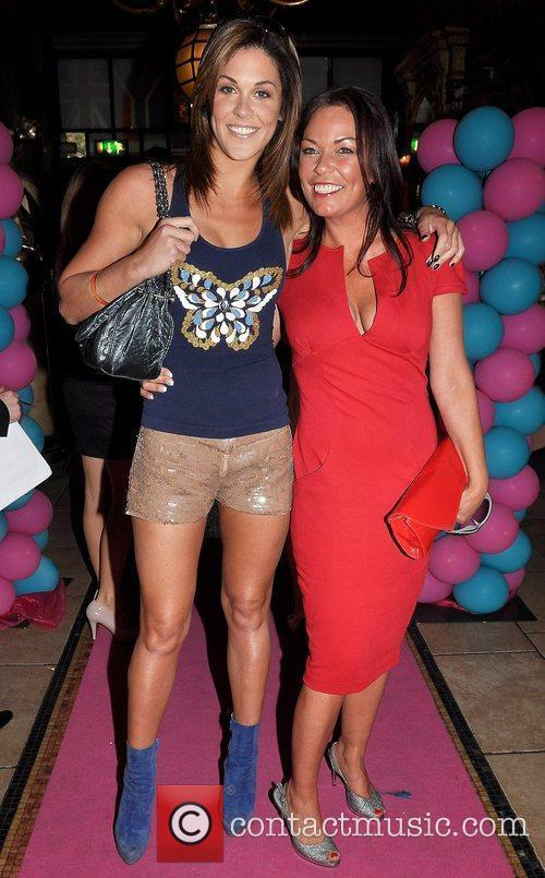 Glenda Gilson, Ruth Henshaw TV3's 'Celebrity Salon' launch...