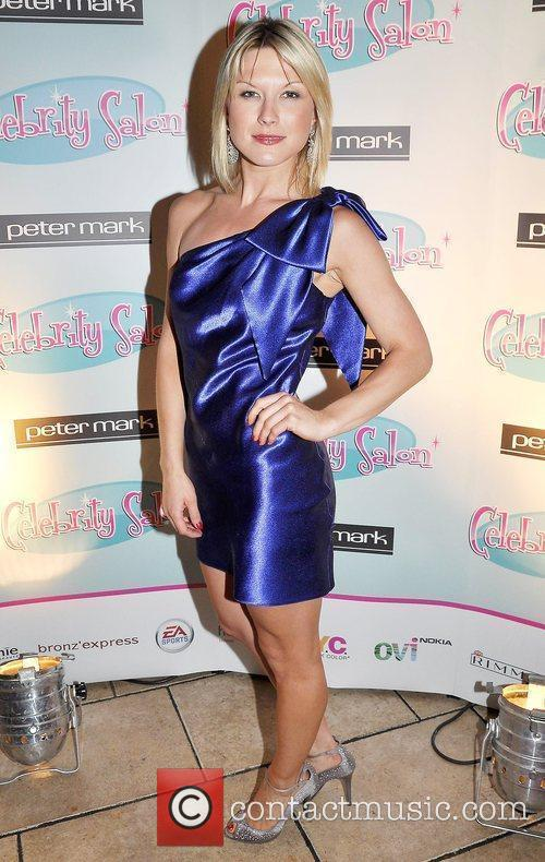 Izabela Chudzicka TV3's 'Celebrity Salon' launch party at...