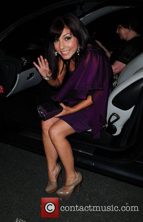 Roxanne Pallett outside the Palace Theatre, Manchester for...