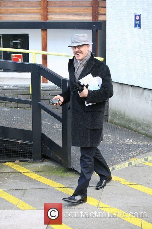 Griff Rhys Jones outside the ITV studios London,...