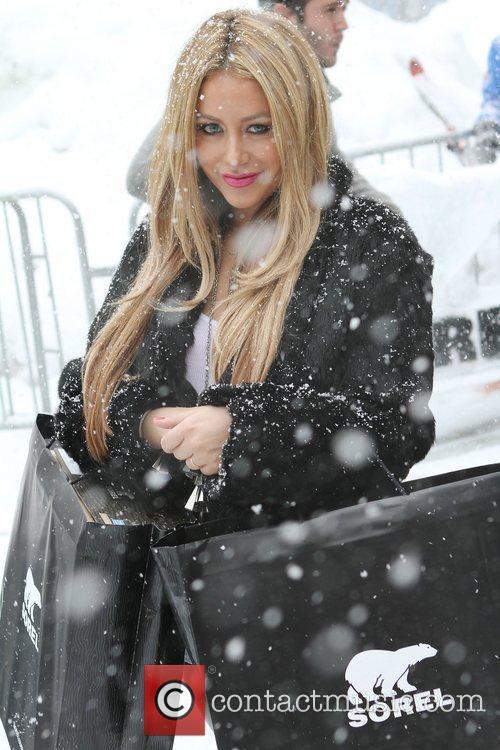 Aubry Oday Celebrities attending the 2011 Sundance Film...