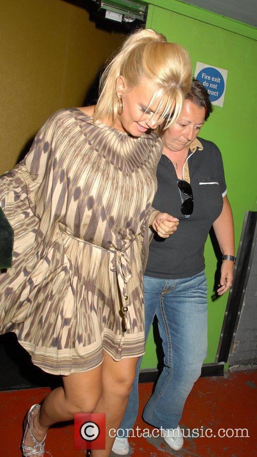 Kerry Katona  Celebrities leaving The Empire in...