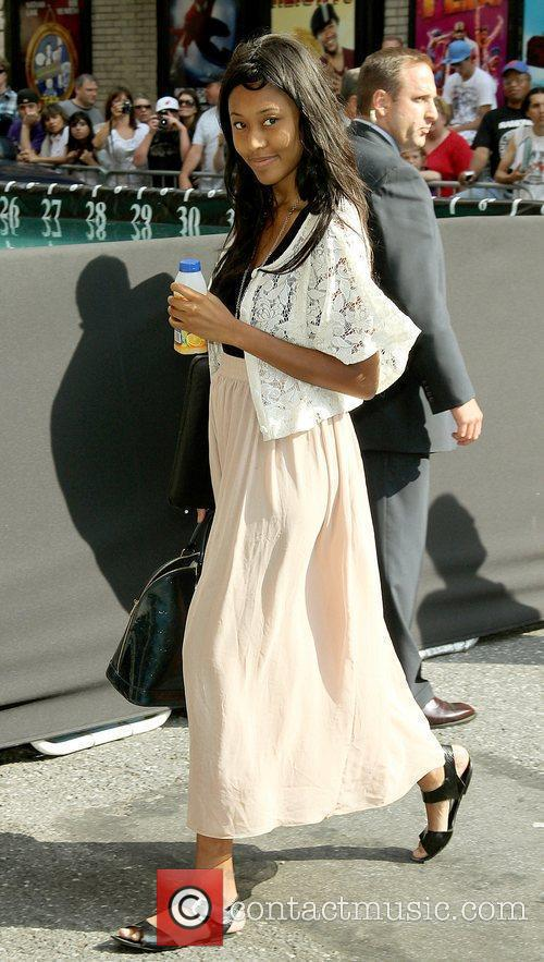 Vanessa Brown and David Letterman 3