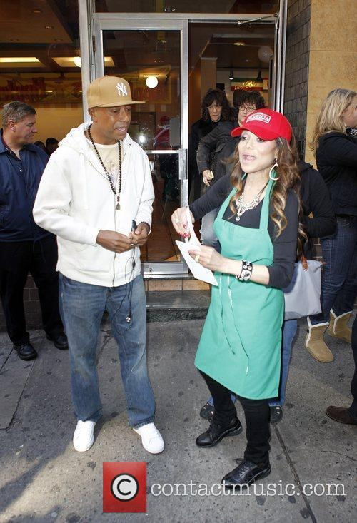 Russell Simmons, La Toya Jackson and The Apprentice 2