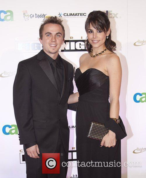 Actor Frankie Muniz and Elycia Turnbow Celebrity Fight...
