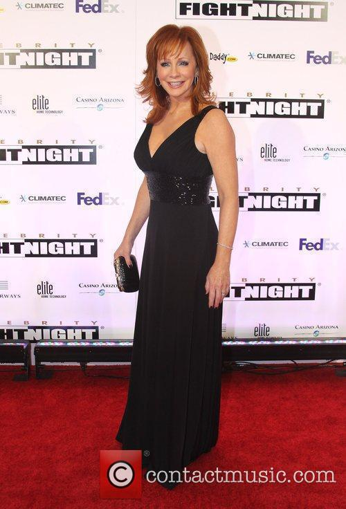 Actor/Singer Reba McEntire  Celebrity Fight Night XVI...