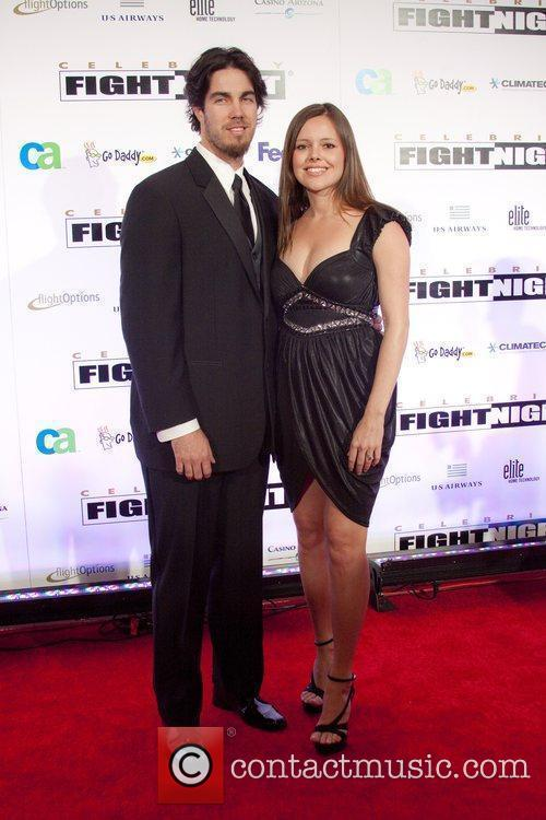 MLB player Dan Haren and wife Jessica...