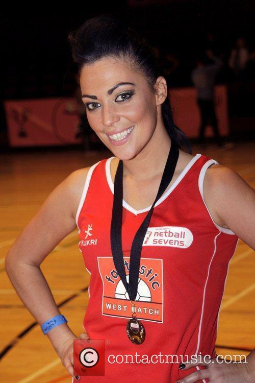 The Celebrity 7 Netball tournament at the Brentwood...