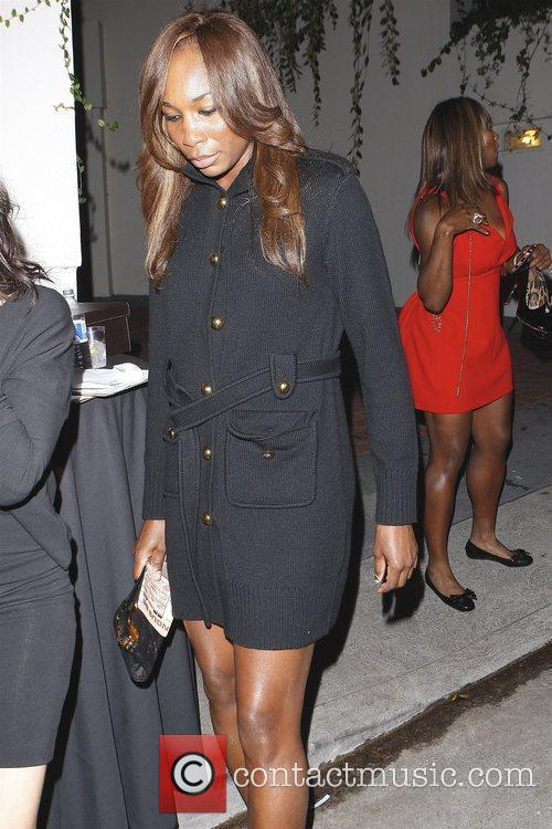 Venus Williams leaving the Grammy Awards house party...