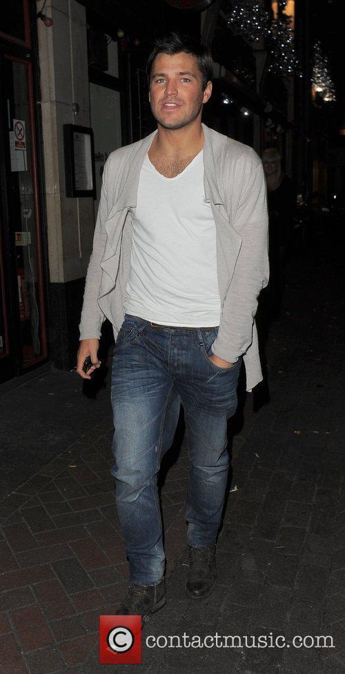 Mark Wright leaving Alto nightclub.