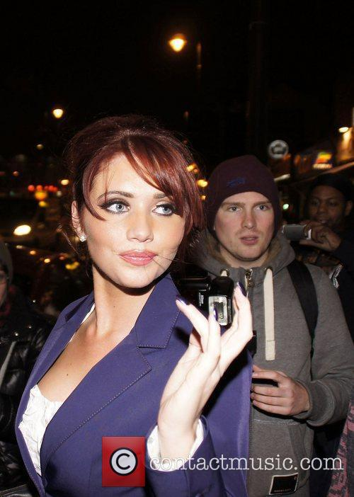 Only Way Is Essex star, Amy Childs celebrities...