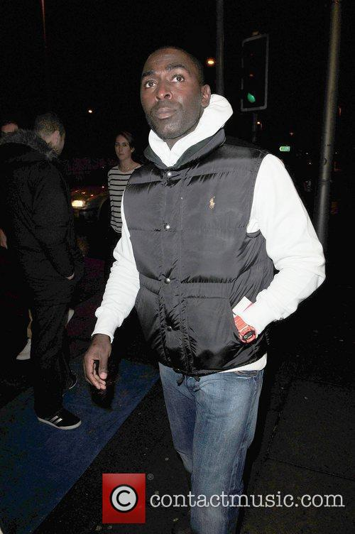 Ex-Manchester United and Newcastle player, Andy Cole, arrives...