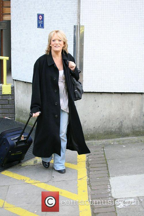 Sherrie Hewson outside the ITV studios London, England