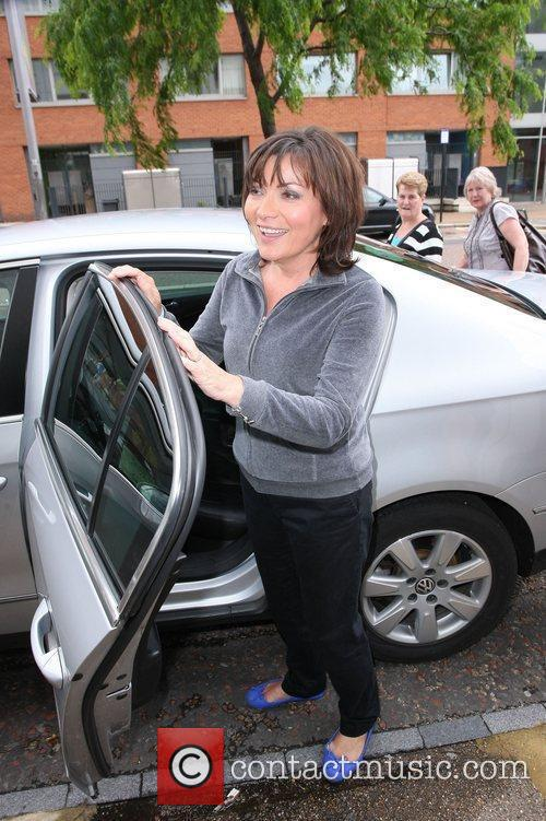 Lorraine Kelly Celebrities outside the ITV television studios....